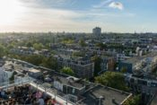 Hotel rooftop Amsterdam