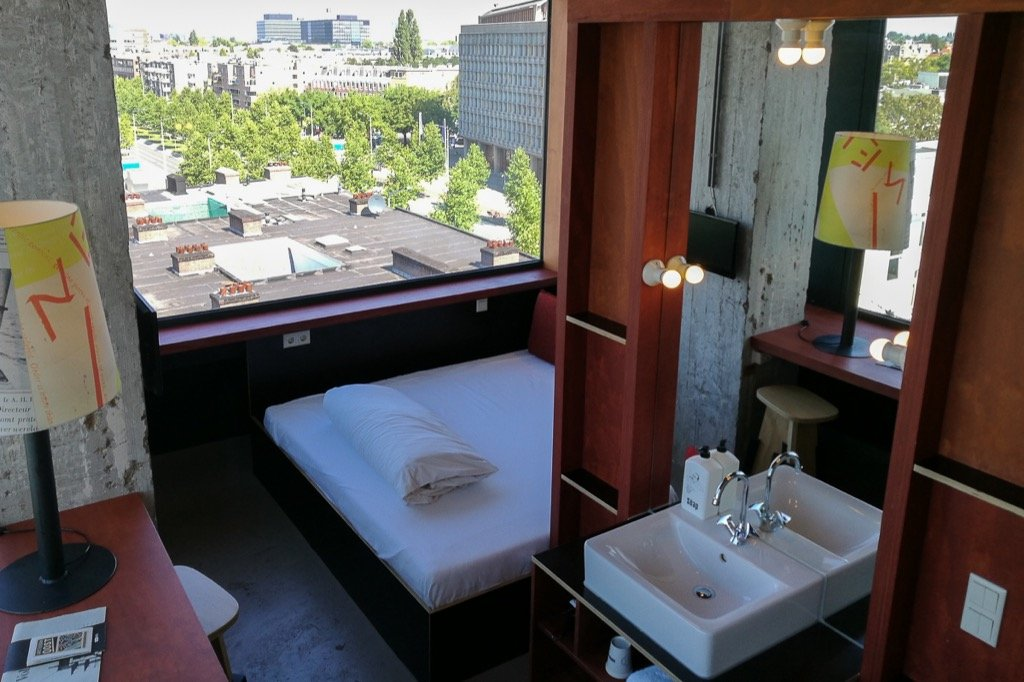 Amsterdam Hotel room