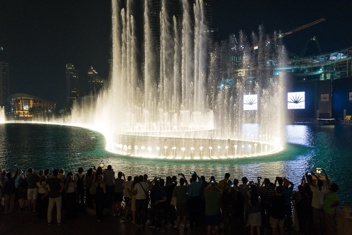 Fountain show, Dubai Mall