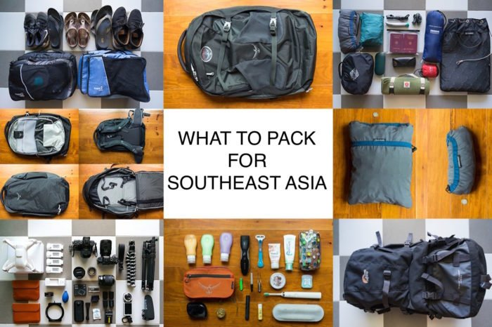 What to pack for Southeast Asia? The Perfect Packing List!