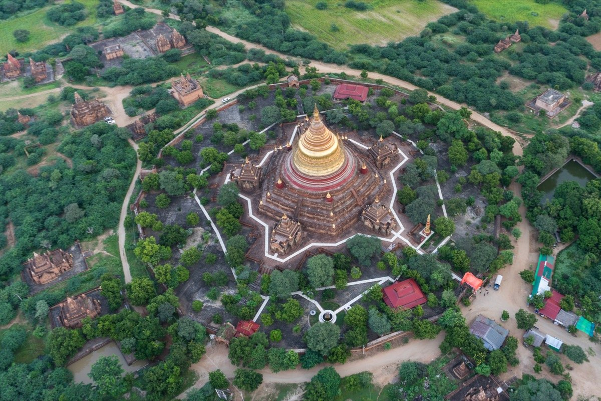 Dhammayazika from above