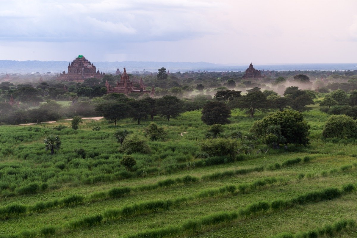 View from the Pyathadar Temple