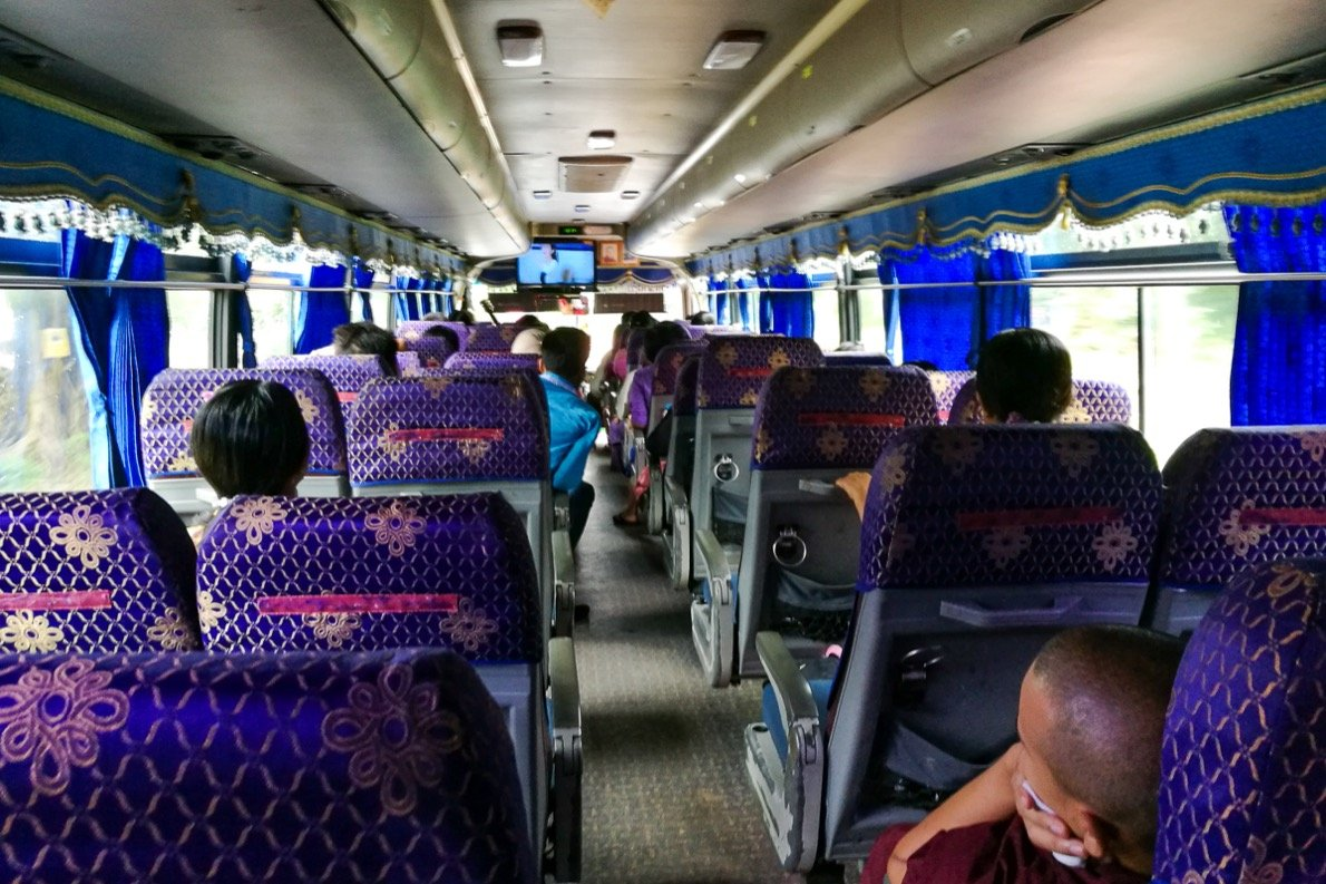 Bus from Hpa-An to Maylamyaing