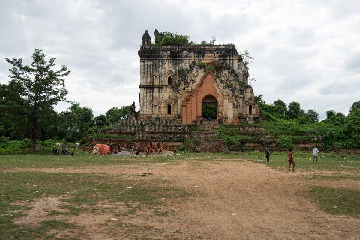 Pagoda ruins in Inwa