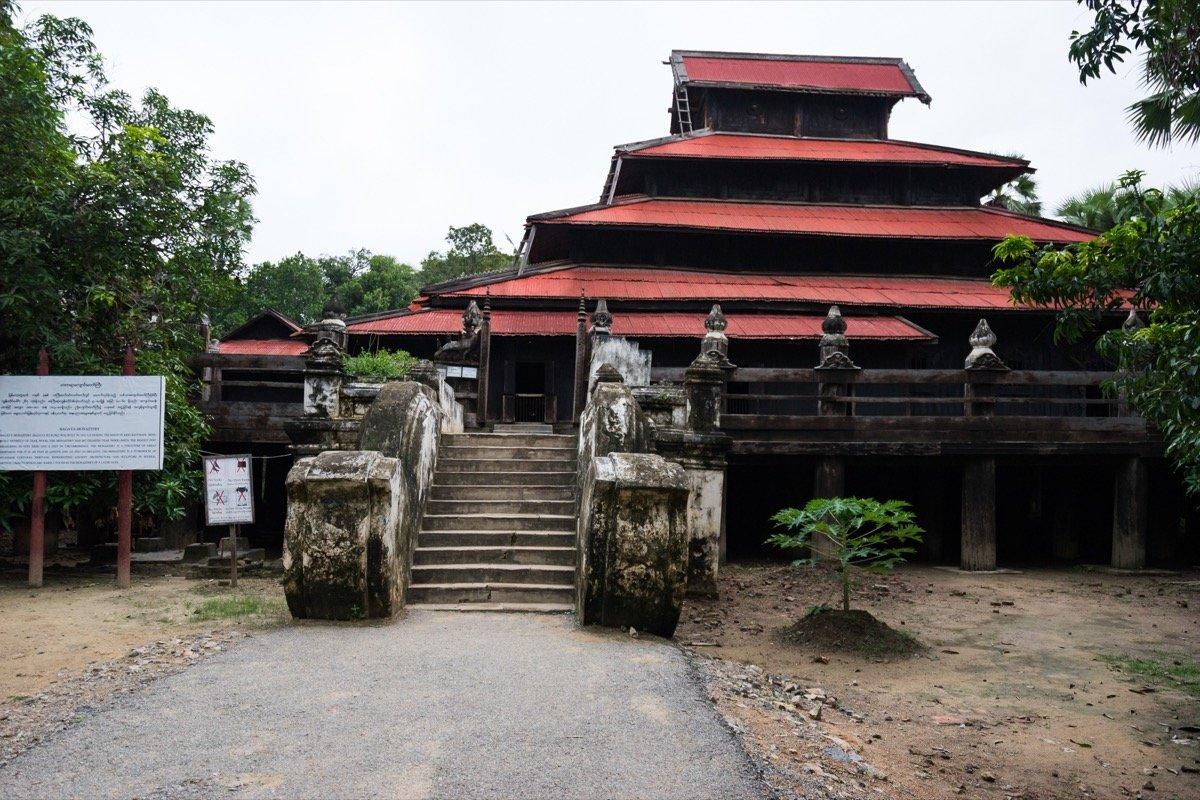 Shwenandaw Monastery in Inwa
