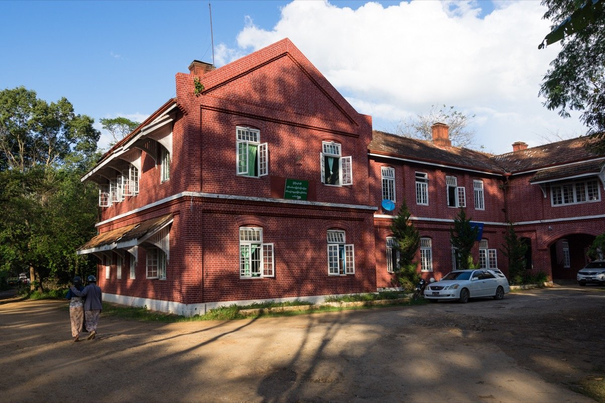 Colonial building in Pyin Oo Lwin