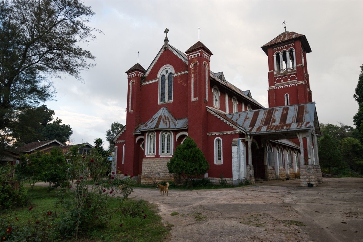 Church in Pyin Oo Lwin