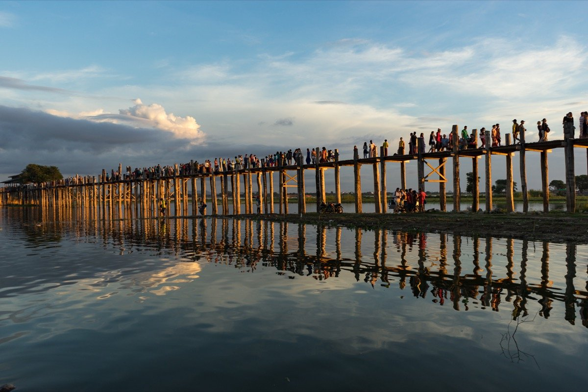 U-Bein Bridge in Amarapura