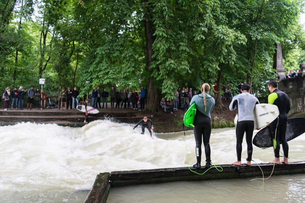 The Eisbach Wave