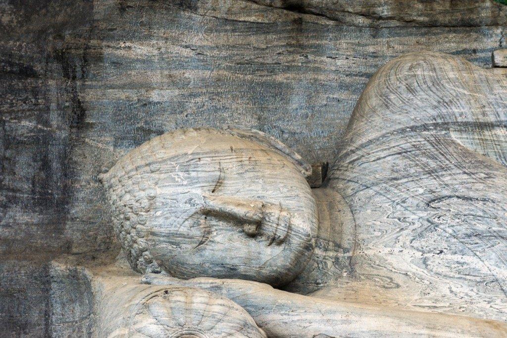 Reclining Buddha of Gal Vihara