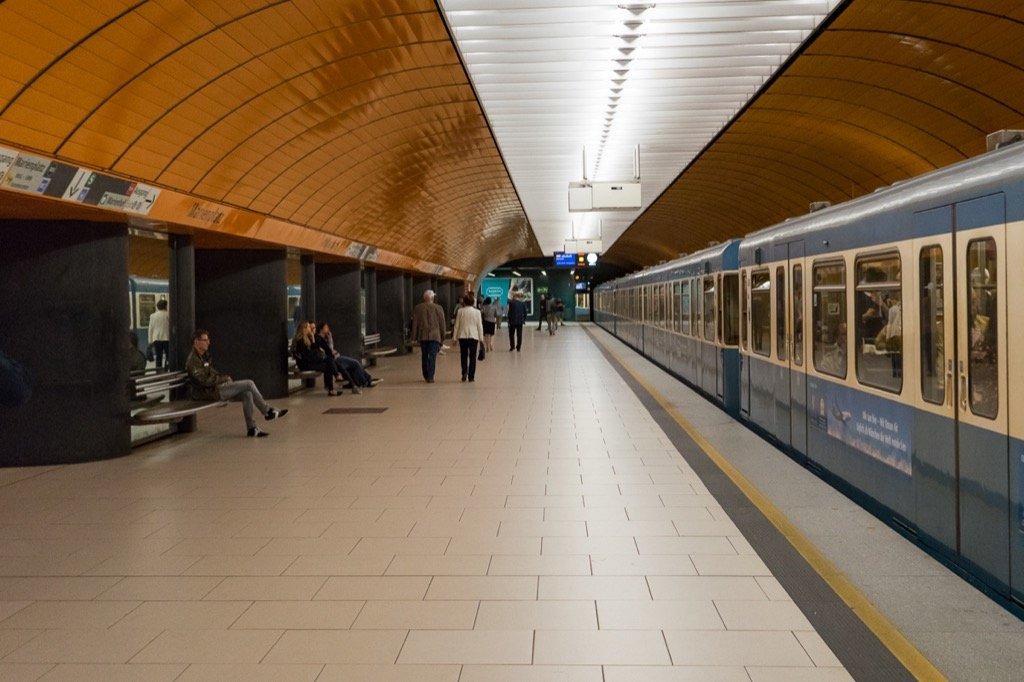 Subway in Munich