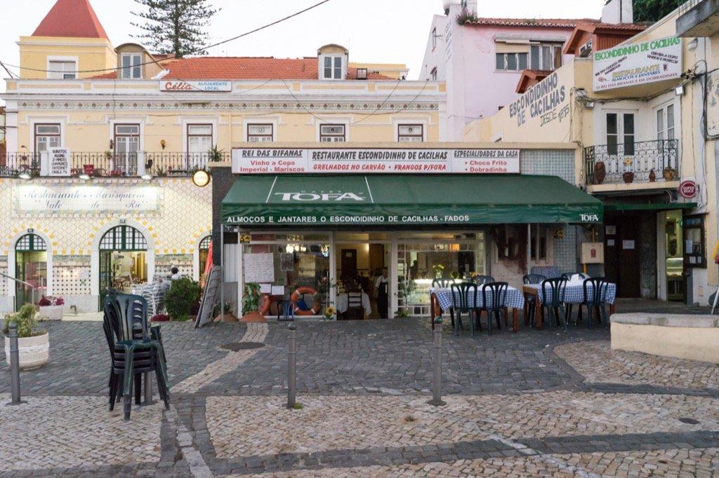 Restaurant in Cacilhas.