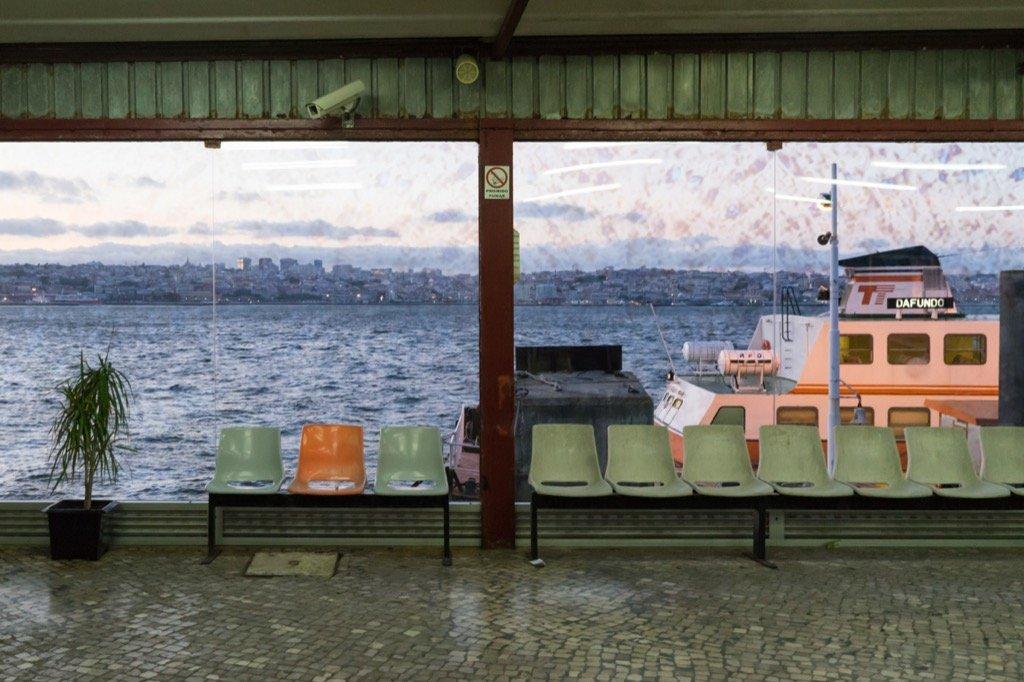 Ferry to Lisbon