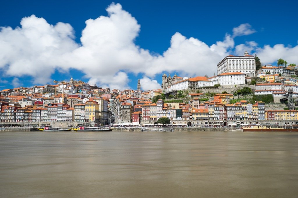 The skyline of Porto