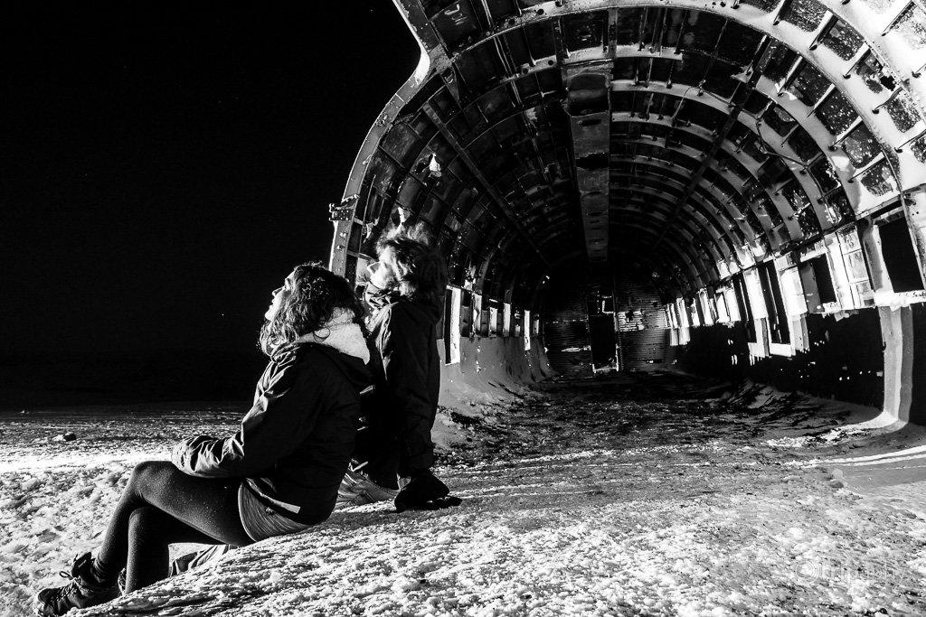 Solheimarsandur airplane wreck
