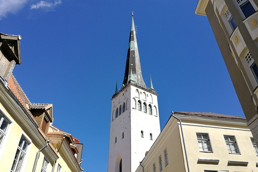 St. Olaf's Church in Tallinn