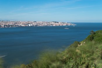 Cristo rei, view of Lisbon