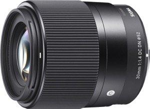 Sigma Emount Lens 30