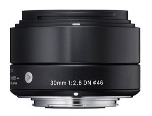 Sigma Emount Lens 30mm