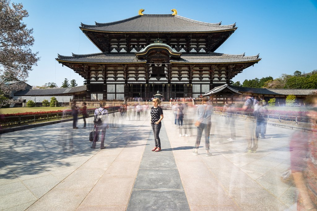 Worlds largest wooden building in Nara