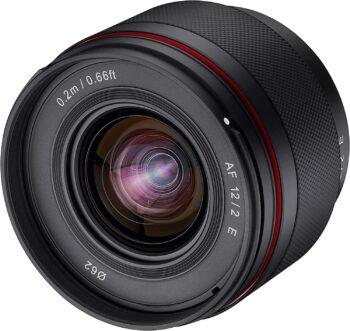 Samyang 12 mm, f/2, AF für Sony E-Mount