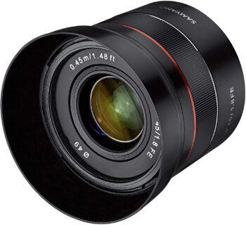 Samyang 45 mm, f/1,8 for Sony E-Mount