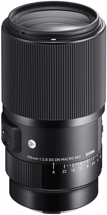 Sigma Art 105 mm, f/2.8 for Sony E-Mount