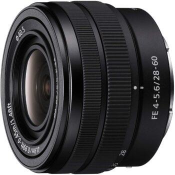 Sony 28-60 mm, f/4-5.6