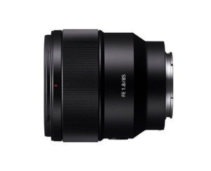 Sony 85 mm, f/1.8 portrait lens