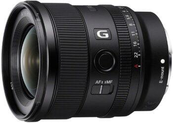Sony 20 mm, f1.8