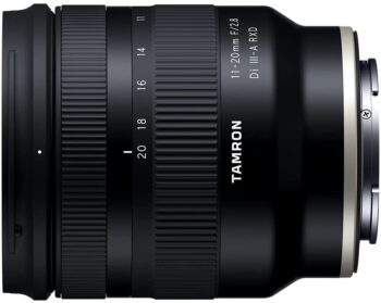 Tamron 11-22 mm für Sony E-Mount