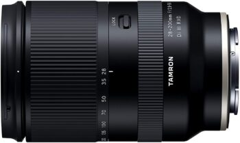 Tamron 28-200 mm, f/2.8-5.6 for Sony E-Mount