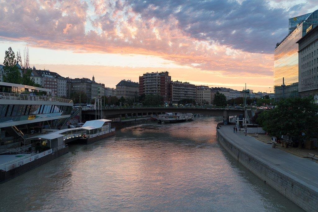 Danube Canal, Vienna.