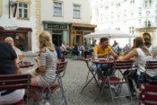 Kleines Café at Franziskanerplatz