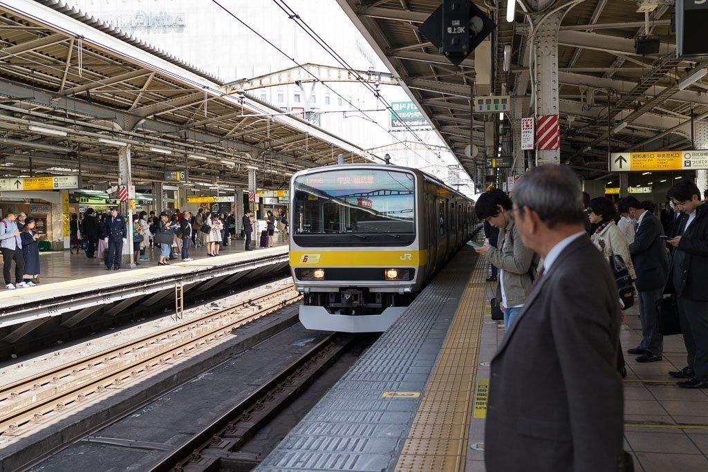 Japan regional train