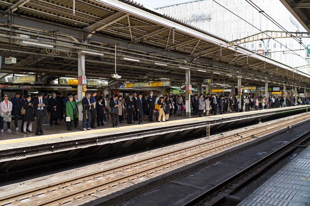 Japan train stations