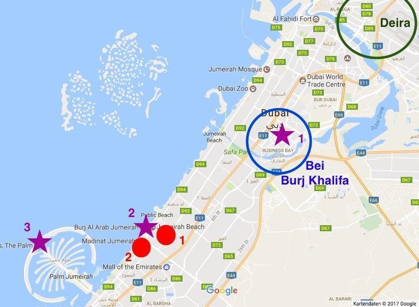 Dubai hotel tips: Where to stay in Dubai? [+Map]