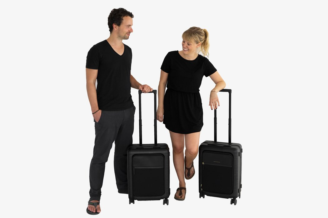 Hand luggage trolley by Horizn