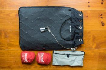 Portable safe for traveling