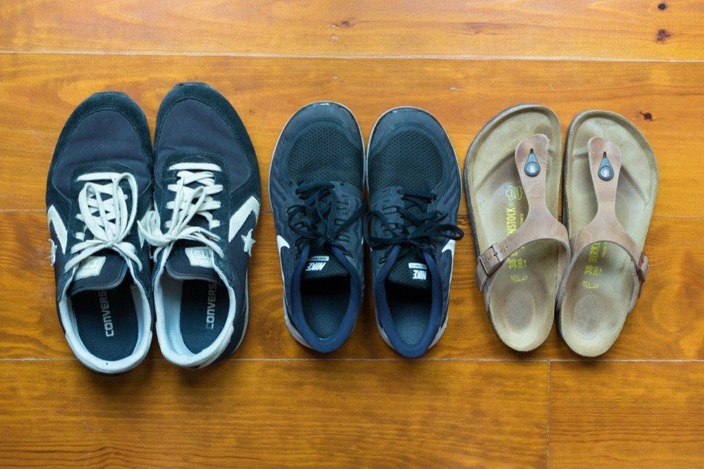 Shoes for a city trip