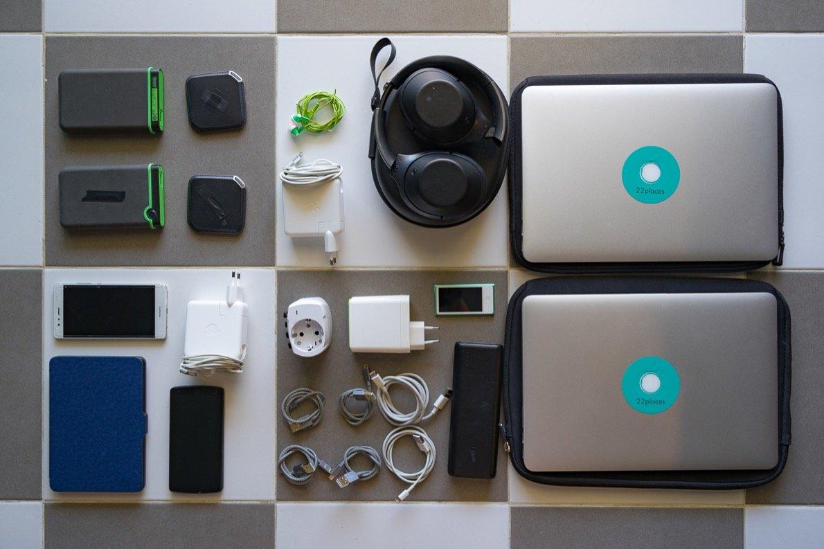 Packing List technical equipment