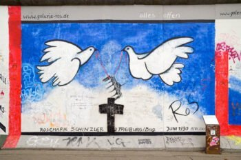 east side gallery doves