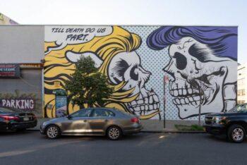 Streetart in Bushwick, Brooklyn