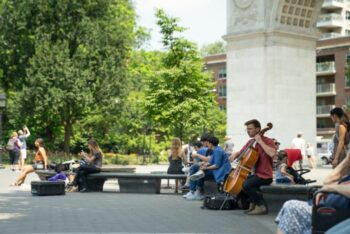 Washington Square Park in Greenwich Village