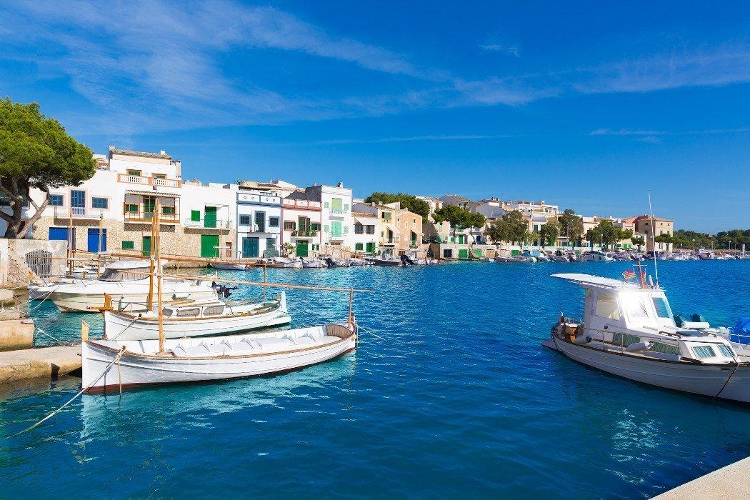 Fishing village on Mallorca