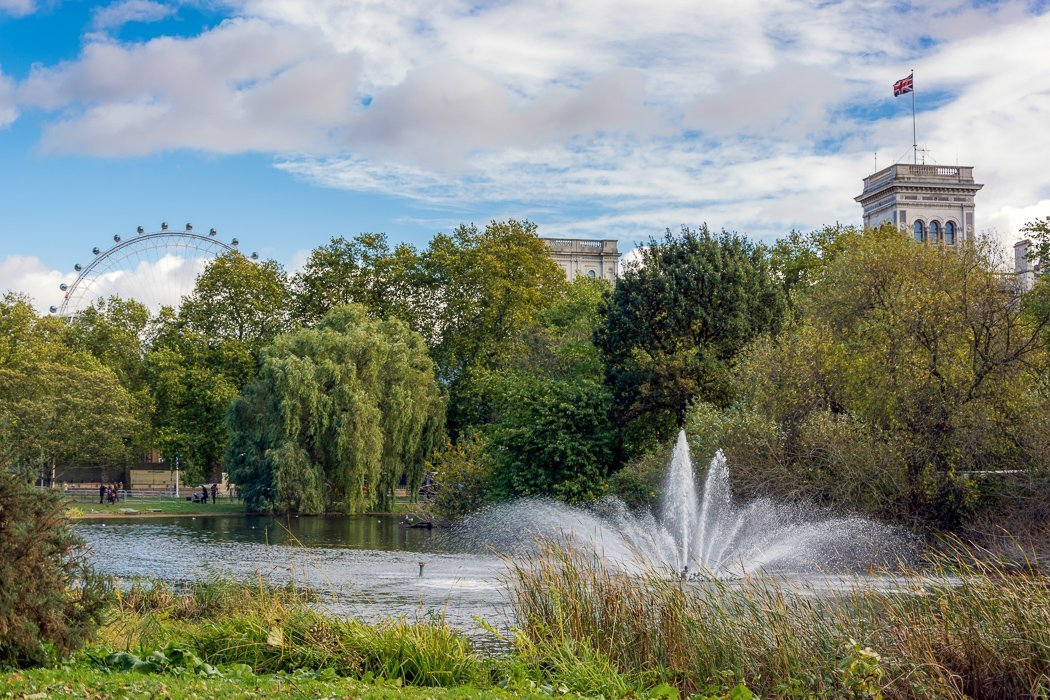 St. James' Park in London