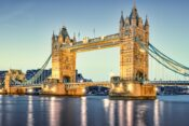 Photo of the Tower Bridge in London